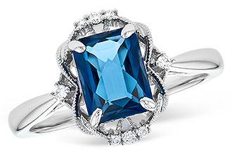 D291-58125: LDS RG 1.70 LONDON BLUE TOPAZ 1.76 TGW